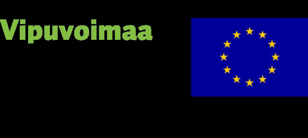 Vipuvoimaa EU:lta ja EUn logot