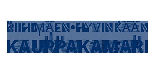 Riihimäen - Hyvinkään kauppakamarin logo