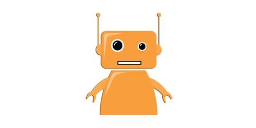 Robotiikkakampuksen robottimerkki